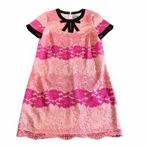 CeCe pink lace dress. SZ 6